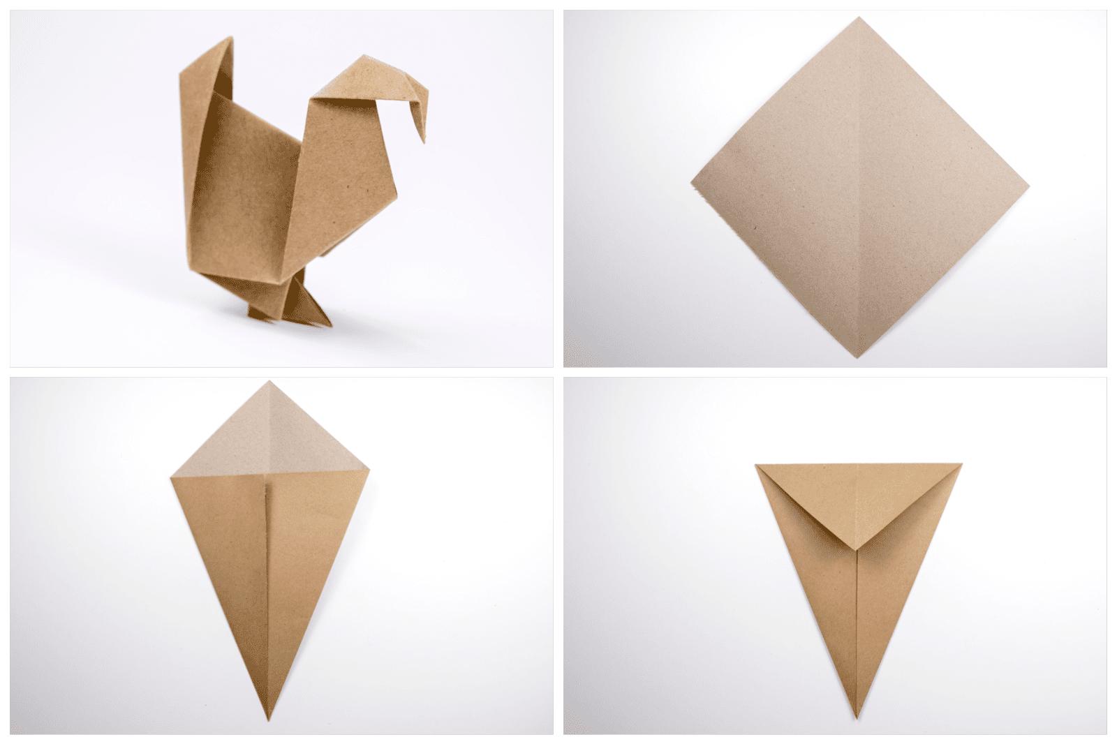Origami Turkey Tutorial Phase 1