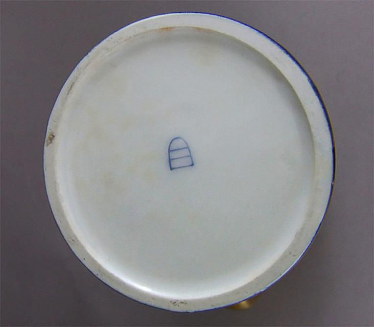 Royal Vienna Beehive Or Shield Mark On Old Porcelain