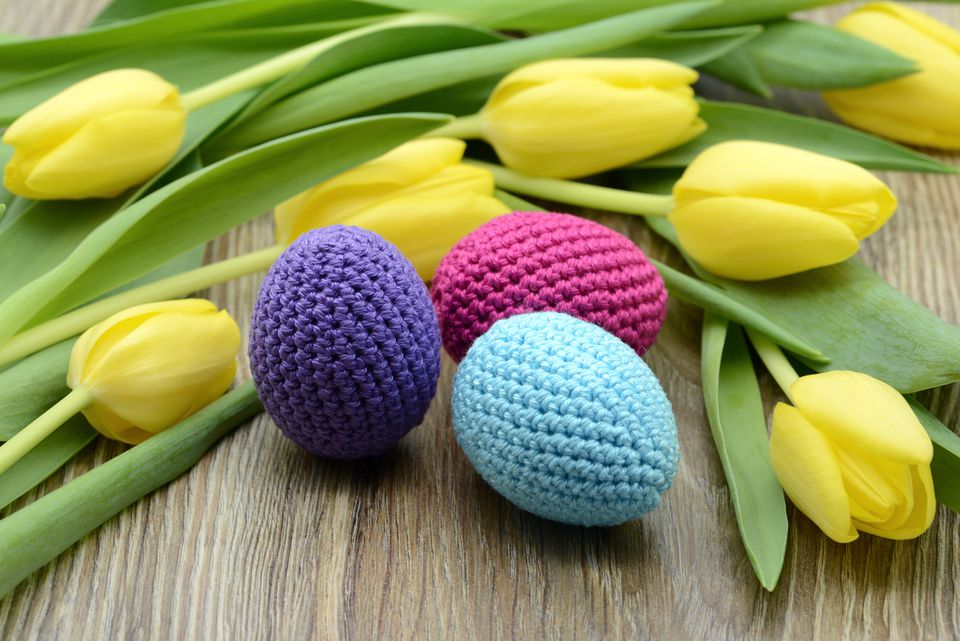 Easter crochet crafts
