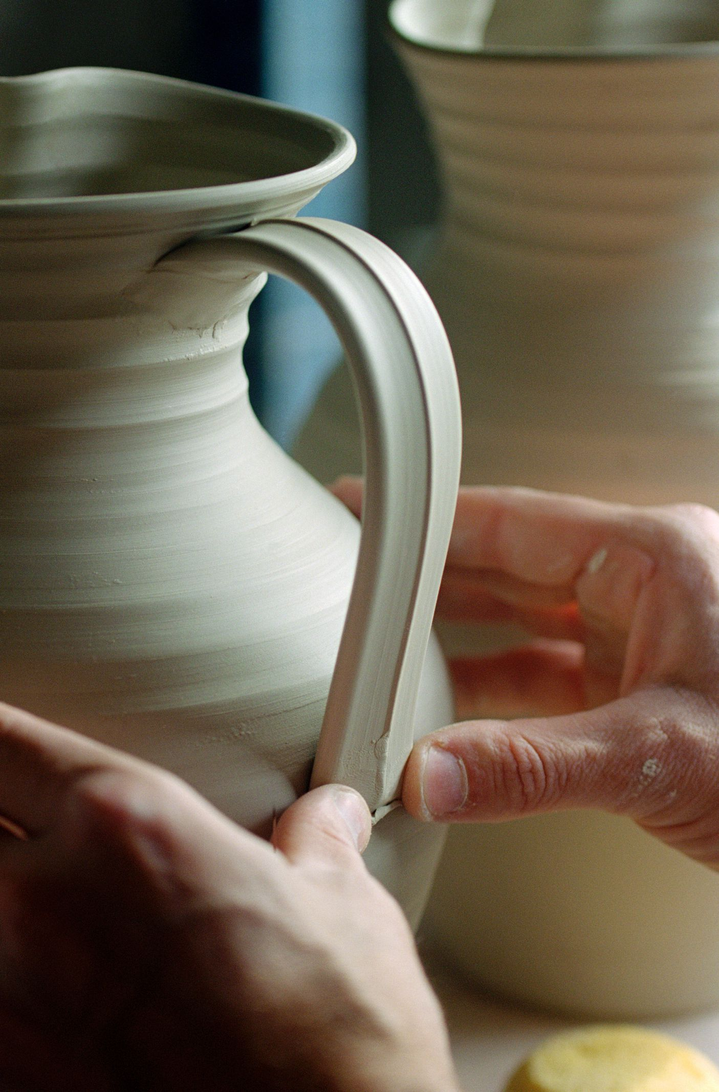 How To Pull A Handle For Pottery