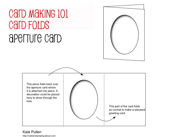 Card Folds For Beginner Card Making