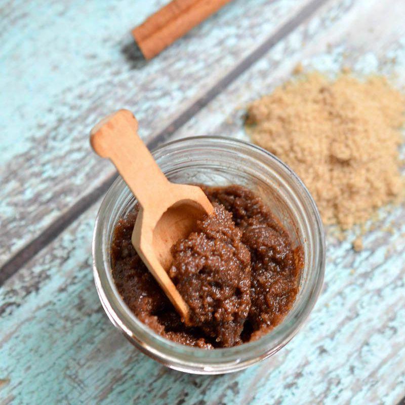 cinnamon sugar handscrub