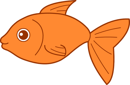 fish clipart from clipart panda an illustration of an orange fish