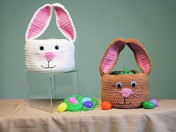Crochet Easter Egg Bunny Free Pattern ⋆ Crochet Kingdom | 426x568