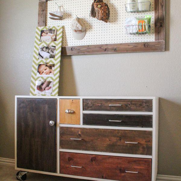 A patchwork dresser DIY plan