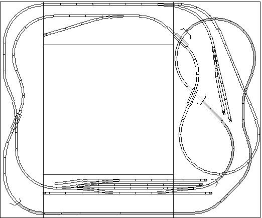 mountain pass train track plan