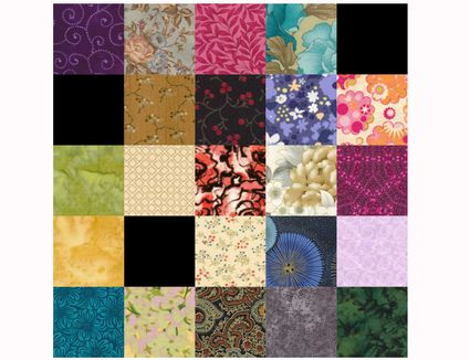 Double Nine Patch Quilt Block Pattern