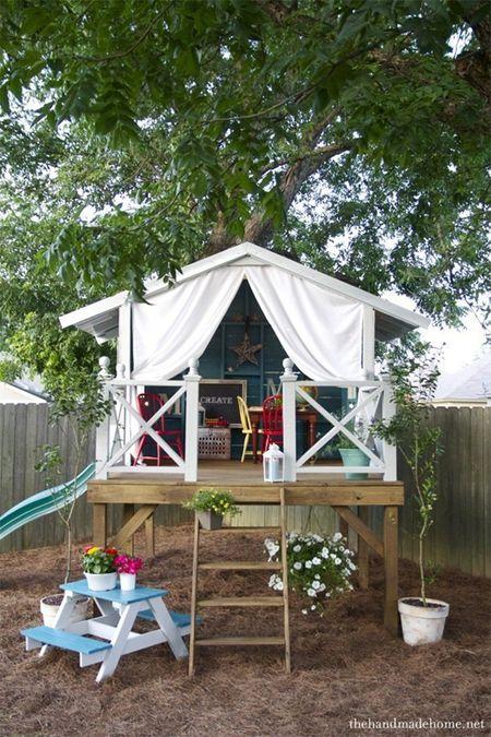Backyard Ideas On A Budget for Kids