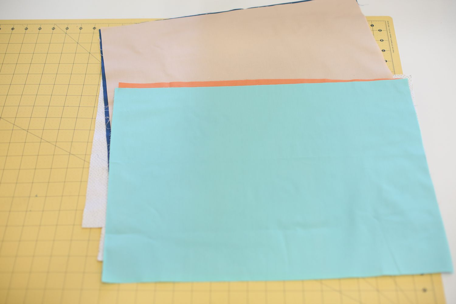 Cut fabric for tassel placemats