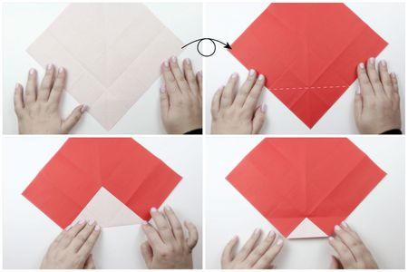 How To Make A Cute Origami Santa