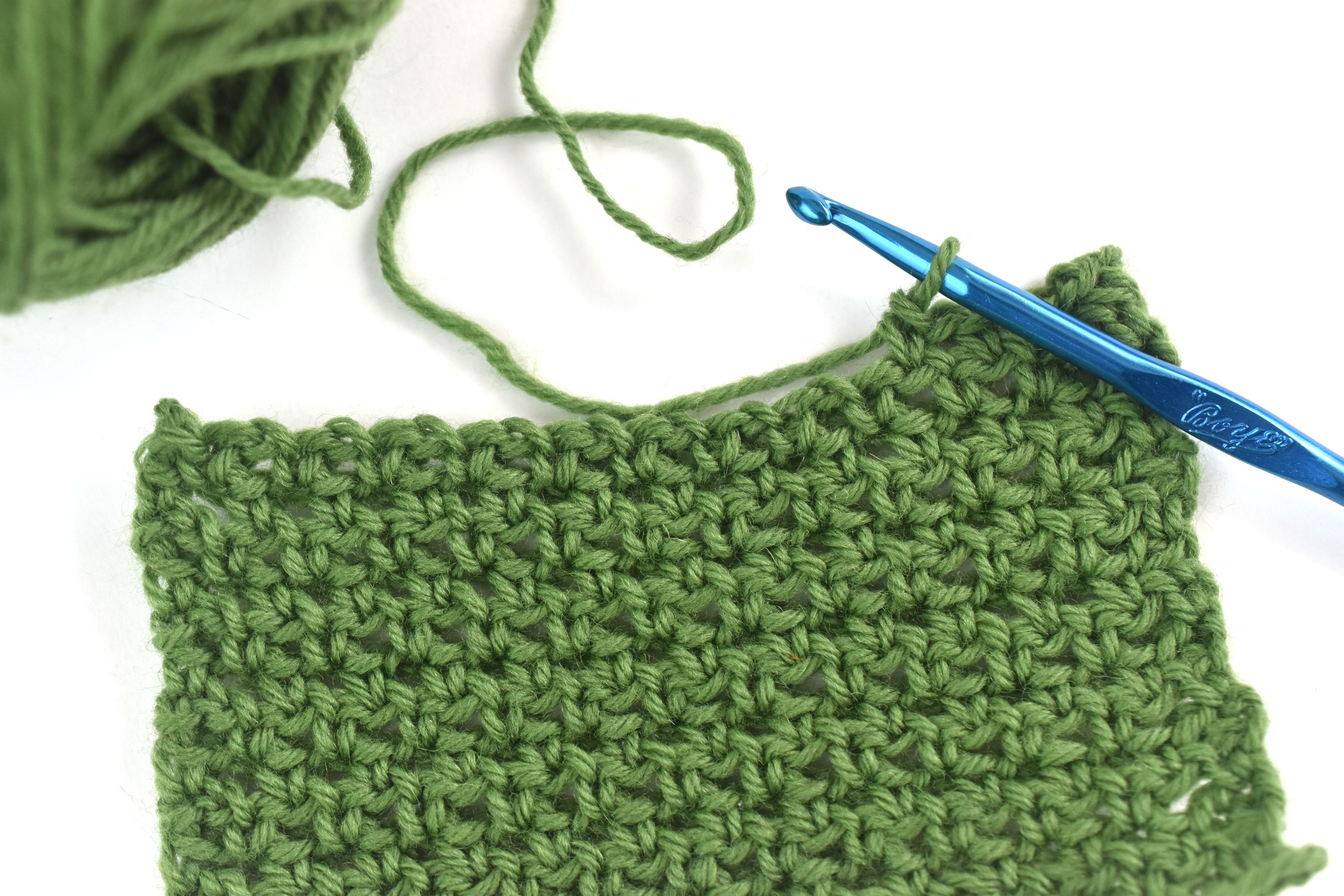 Single Crochet Mesh Stitch