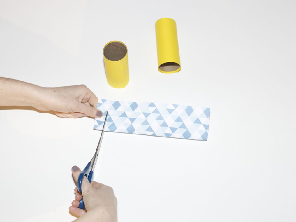 cutting outer paper