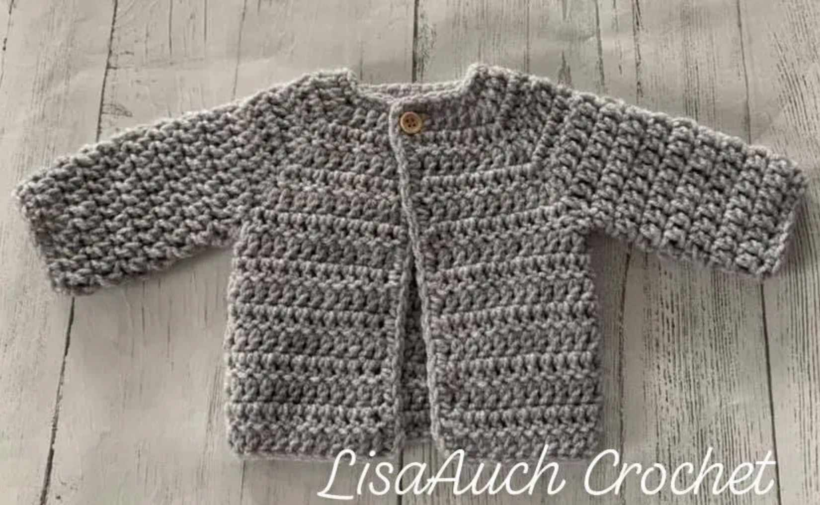 20 Free Crochet Cardigan Patterns