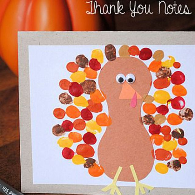 Turkey Thank You Notes