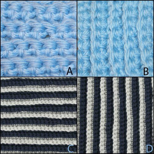 How To Crochet The Back Loop Single Stitch