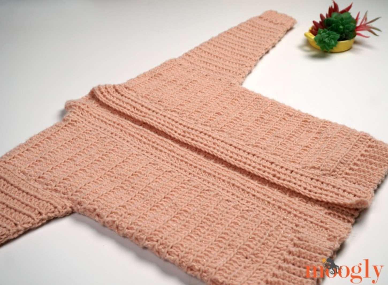 Galaxy Cardigan Crochet Pattern