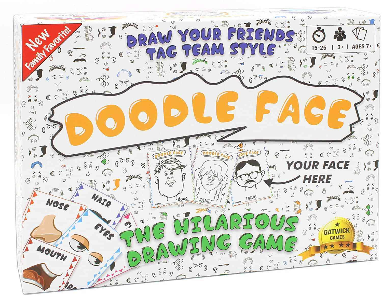 Gatwick Games Doodle Face