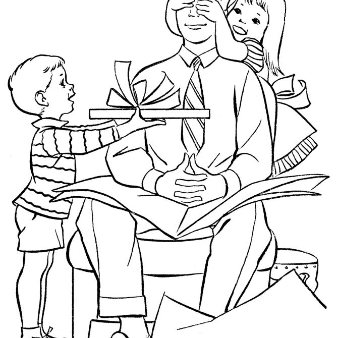 Free, Printable Father\'s Day Coloring Pages for Kids