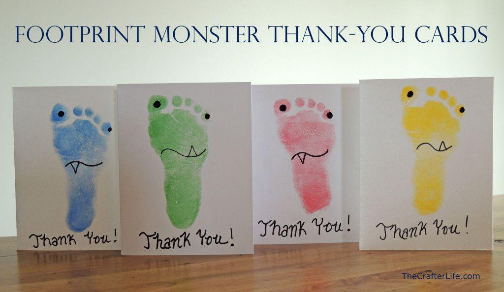 11 Adorable Footprint Crafts For Kids