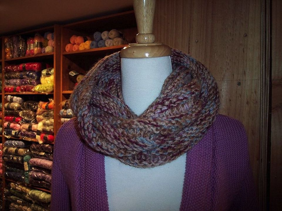 Mobius Scarf Pattern Instructions