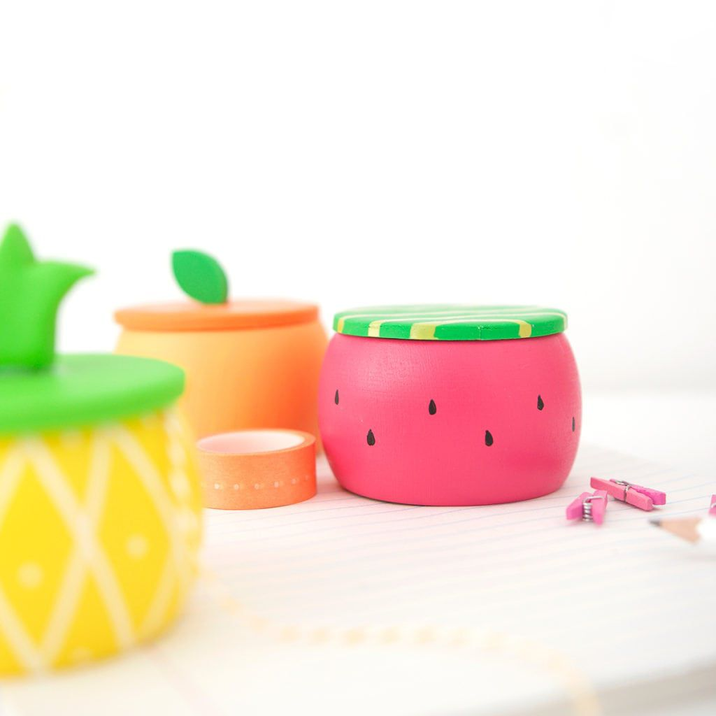 Fruit Trinket Boxes