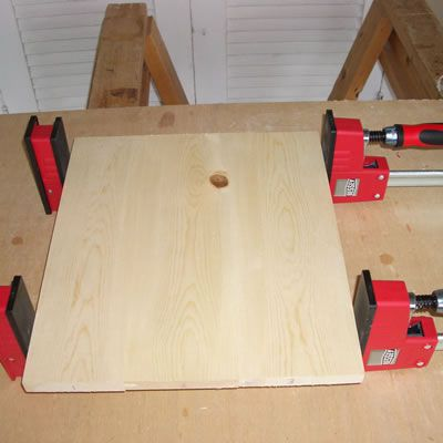 Assembling the Tongue and Groove Joints