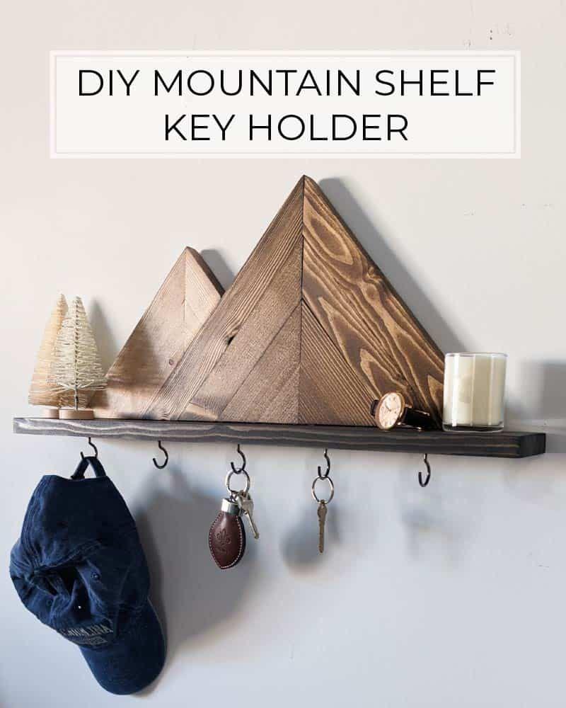 Mountain Key Holder