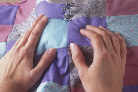 How to Do Stitch in the Ditch Quilting