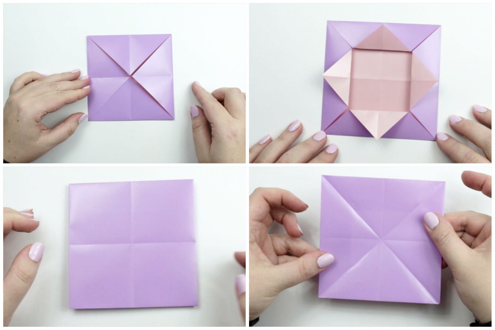 Folded Origami Paper