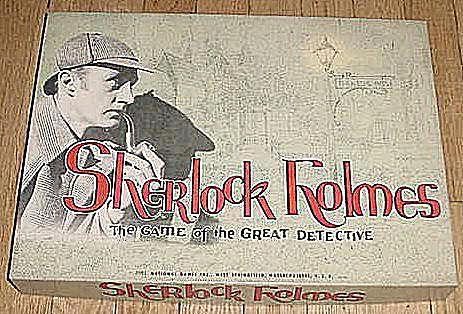 Sherlock Holmes board game packaging