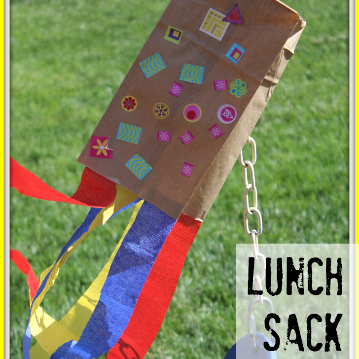 lunch sack kite