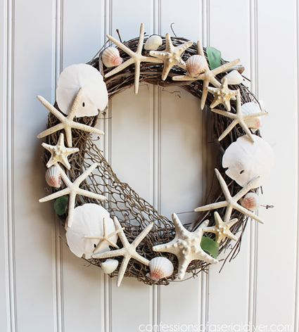 Non Christmas Winter Wreaths.9 Diy Winter Wreaths In Neutral Colors