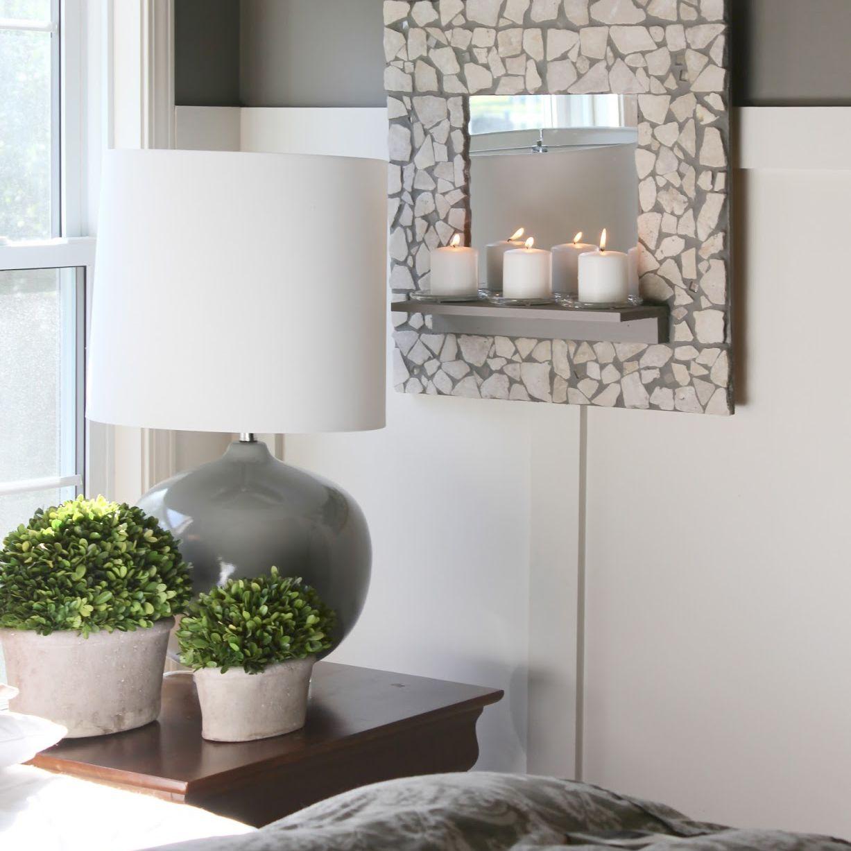 Mosaic Shelf Mirror
