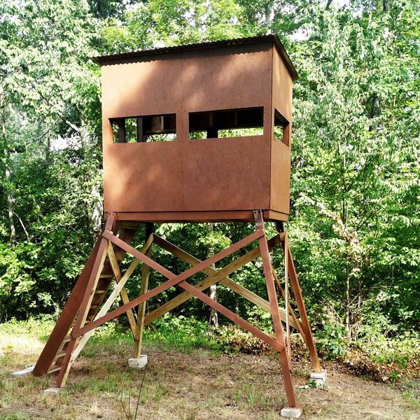 Deer Stand Designs : Free deer stand plans in a variety of sizes