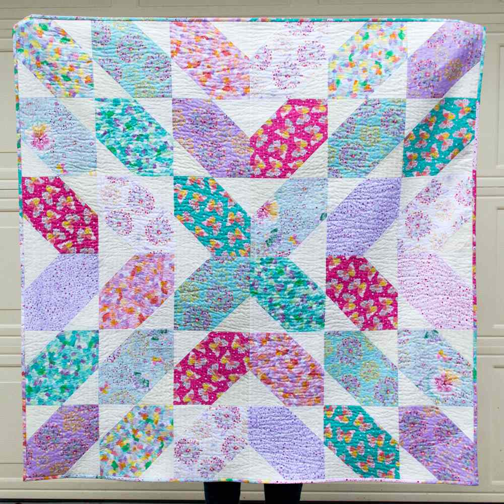 Fat Quarter Fancy Quilt Pattern