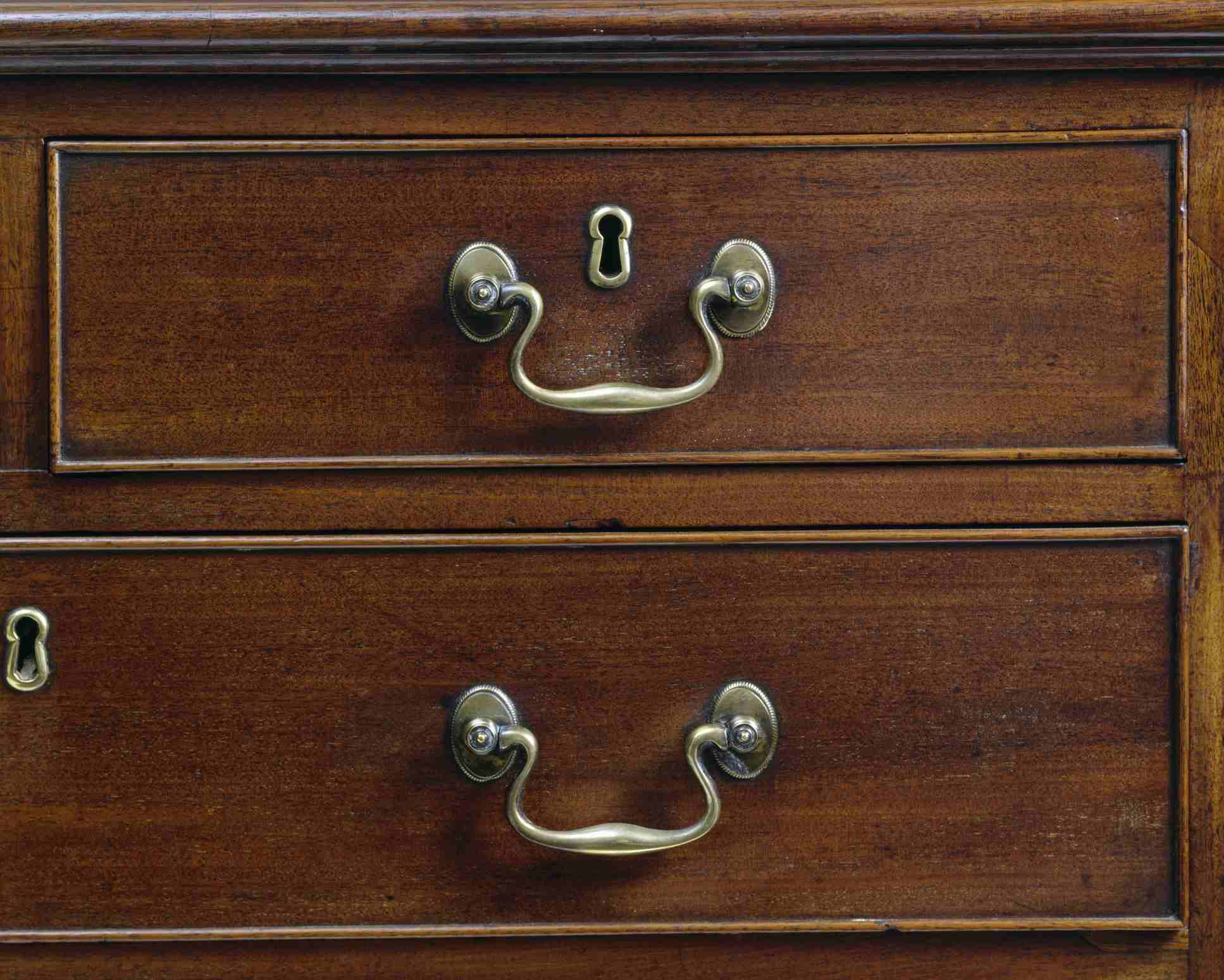 Chippendale drawer details