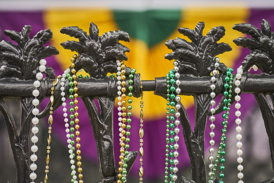Mardi Gras Beads and Color
