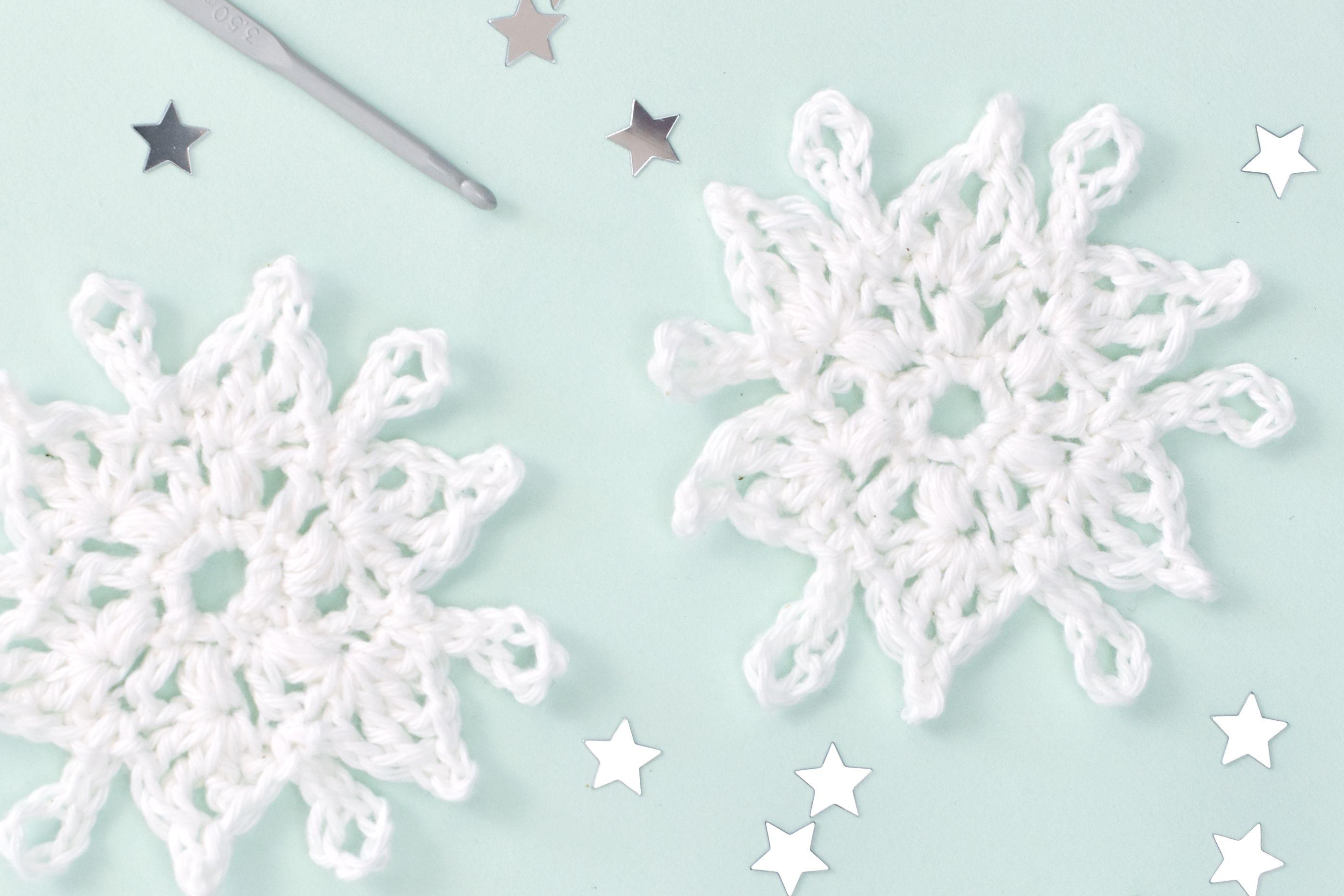 Free Easy Crochet Snowflake Pattern