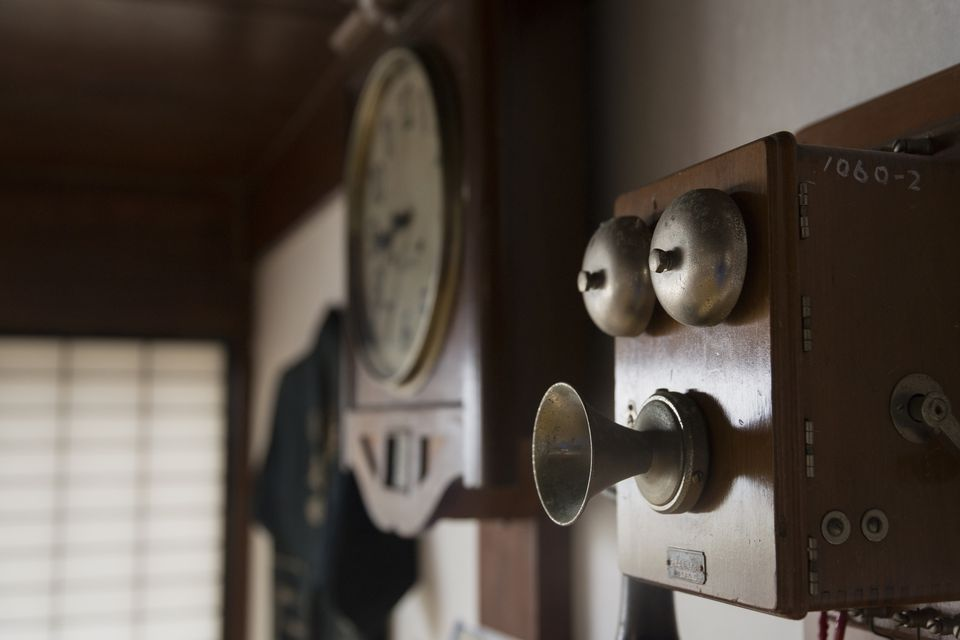 Antique Wall Telephones