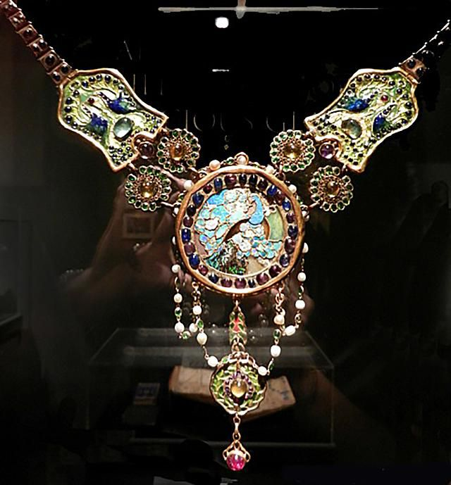 Tiffany Peacock Necklace