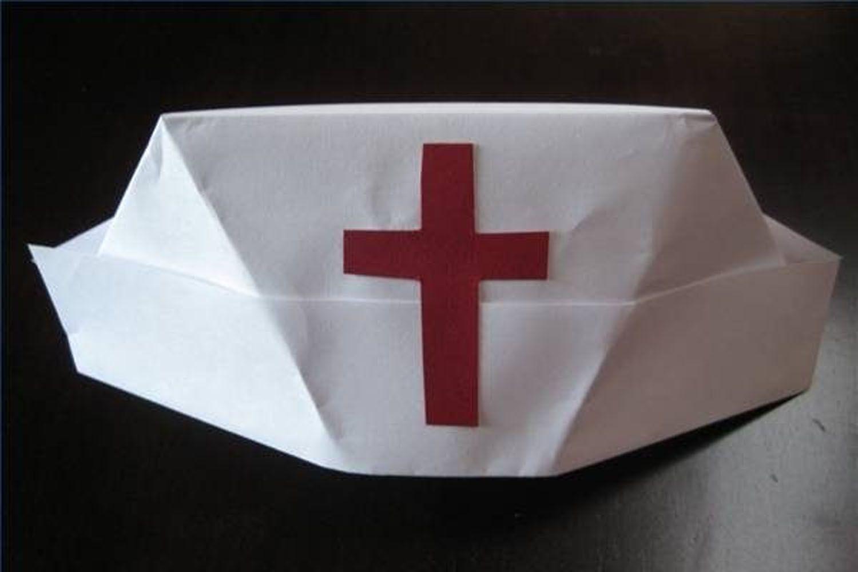 paper nurses cap