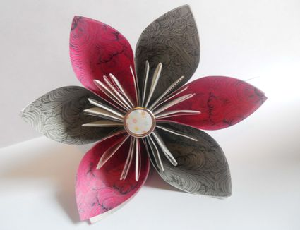 Origami beginner projects 7 steps to a pretty origami kusudama flower mightylinksfo