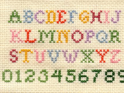 bdf67988a48 Free Alphabet Cross Stitch Patterns for Your Next Project