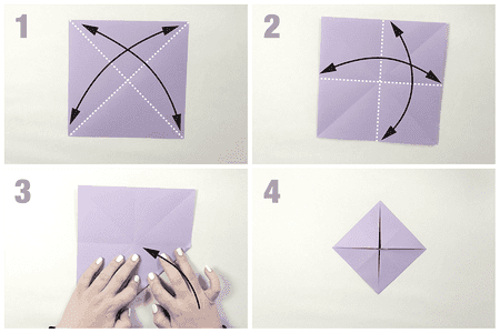 Easy Origami Butterfly Tutorial