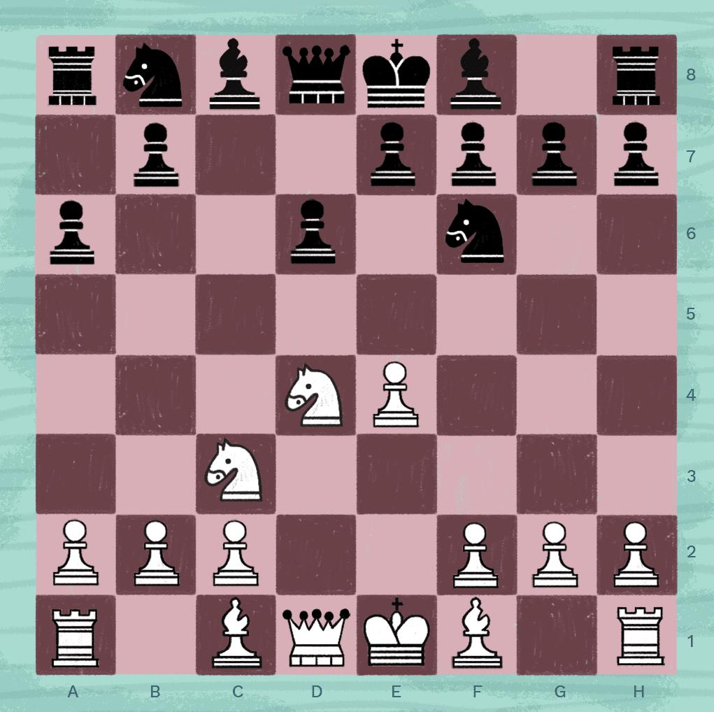 Najdorf variation in chess