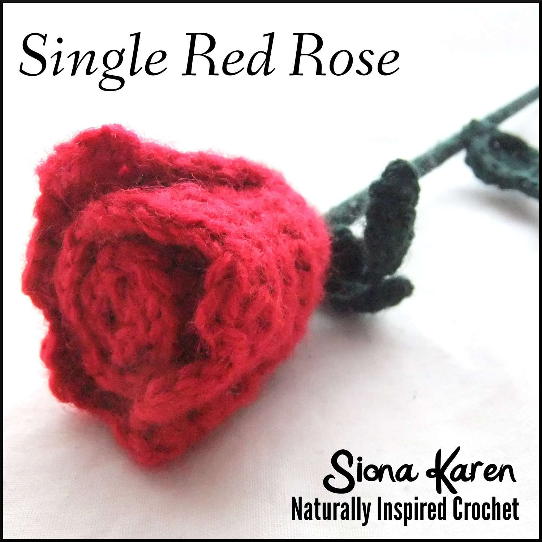 10 Crochet Patterns for Roses