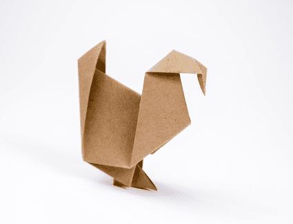 Origami Turkey Tutorial