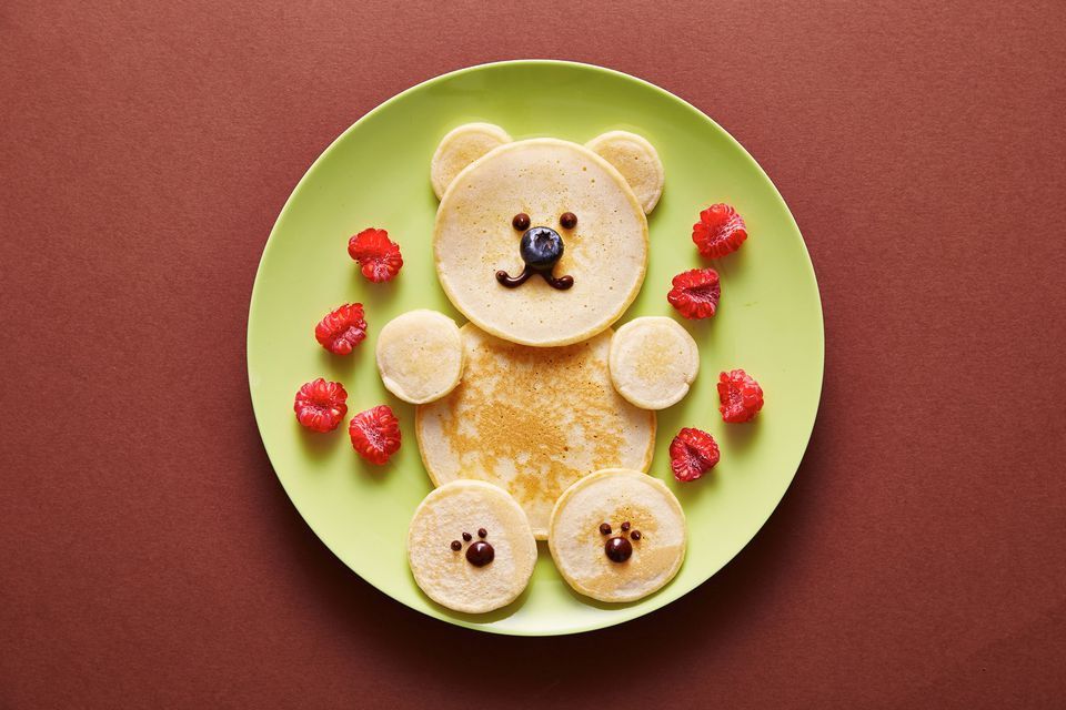 Teddy bear pankcakes