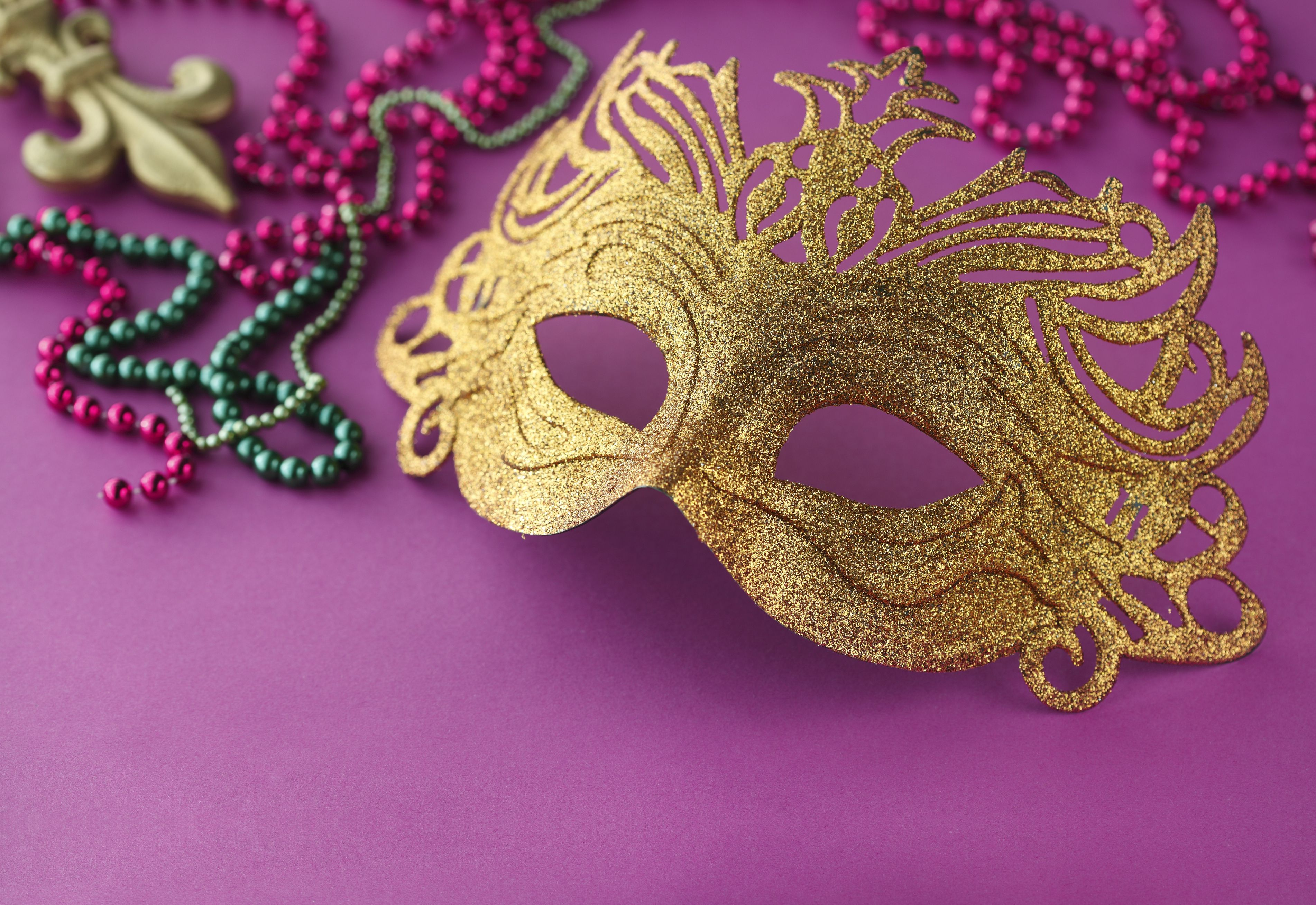 Satisfactory image for printable mardi gras mask