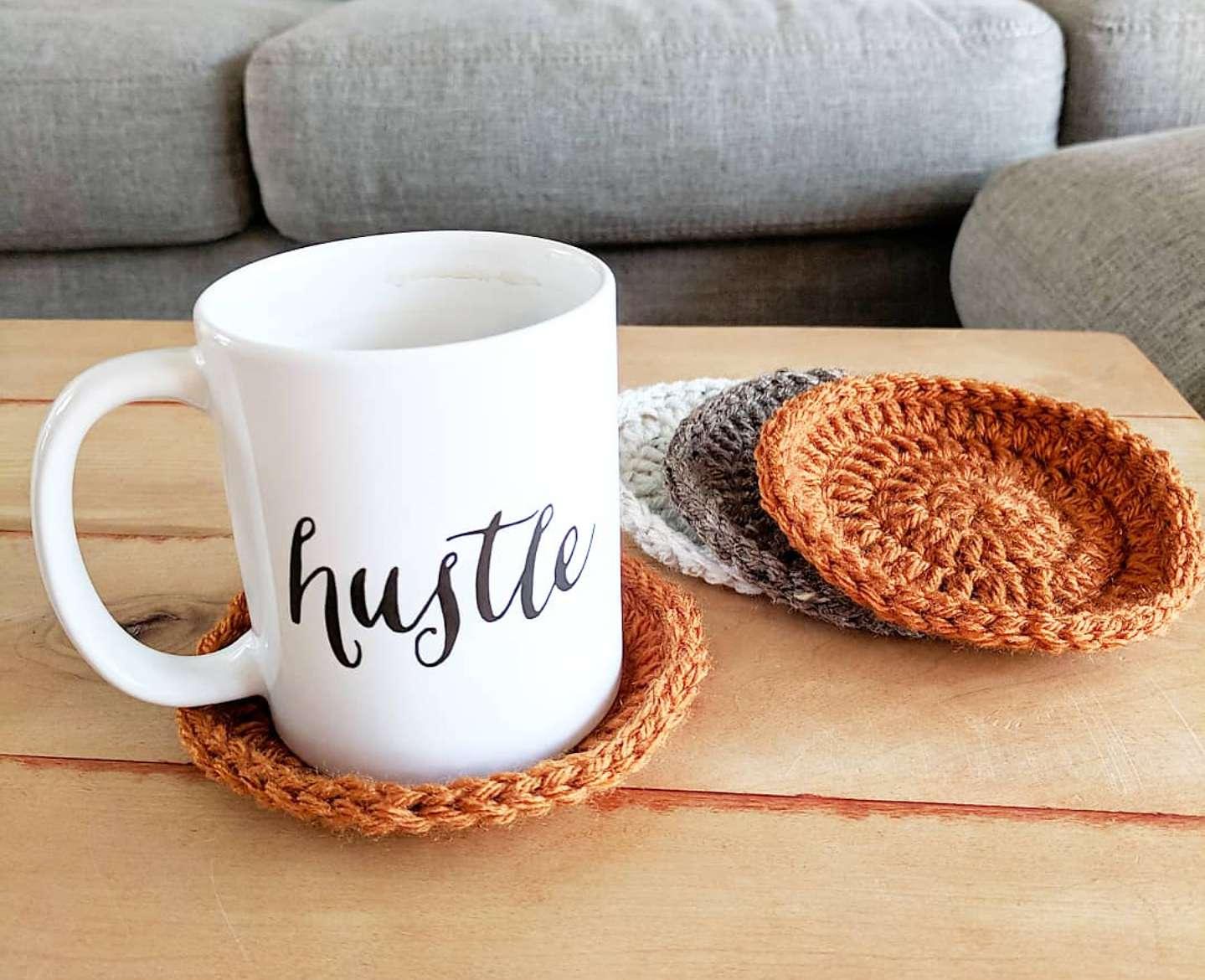Mug Hug Trivet Pattern